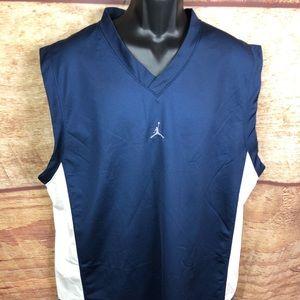 Air Jordan athletic jersey men's size  xxl